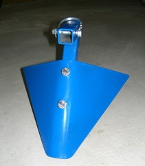 Furrower Wheel Hoe Attachment